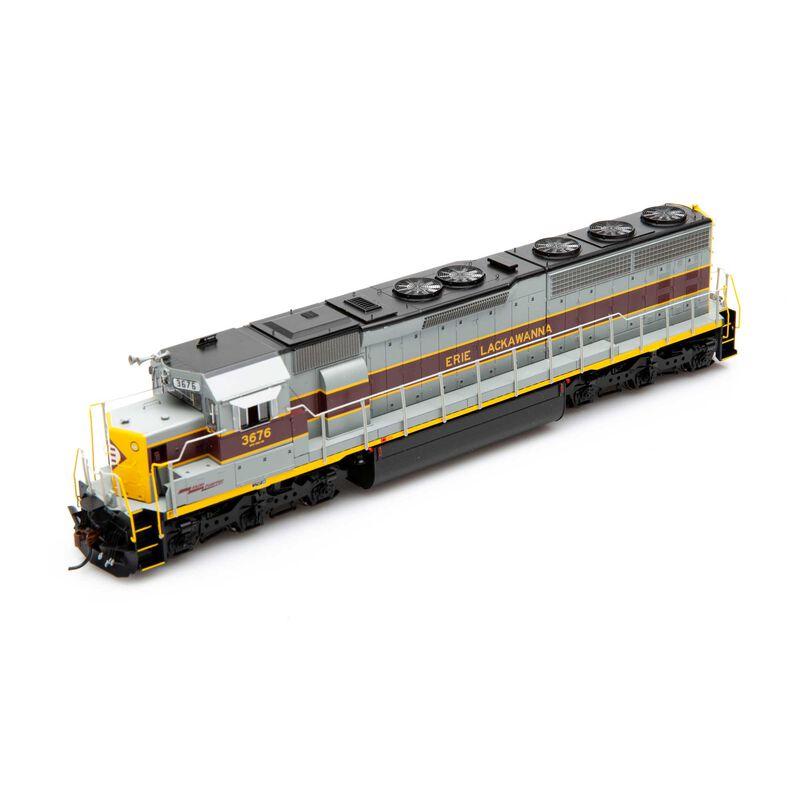 HO SD45-2 with DCC & Sound EL #3676