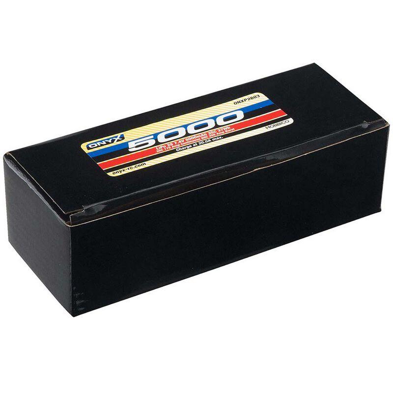 7.4V 5000 2S 35C Hardcase Lipo Battery: Star Plug