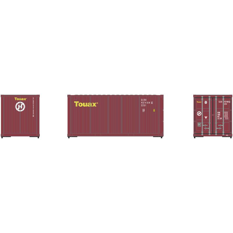 HO RTR 20' Corrugated Container GLDU (3)