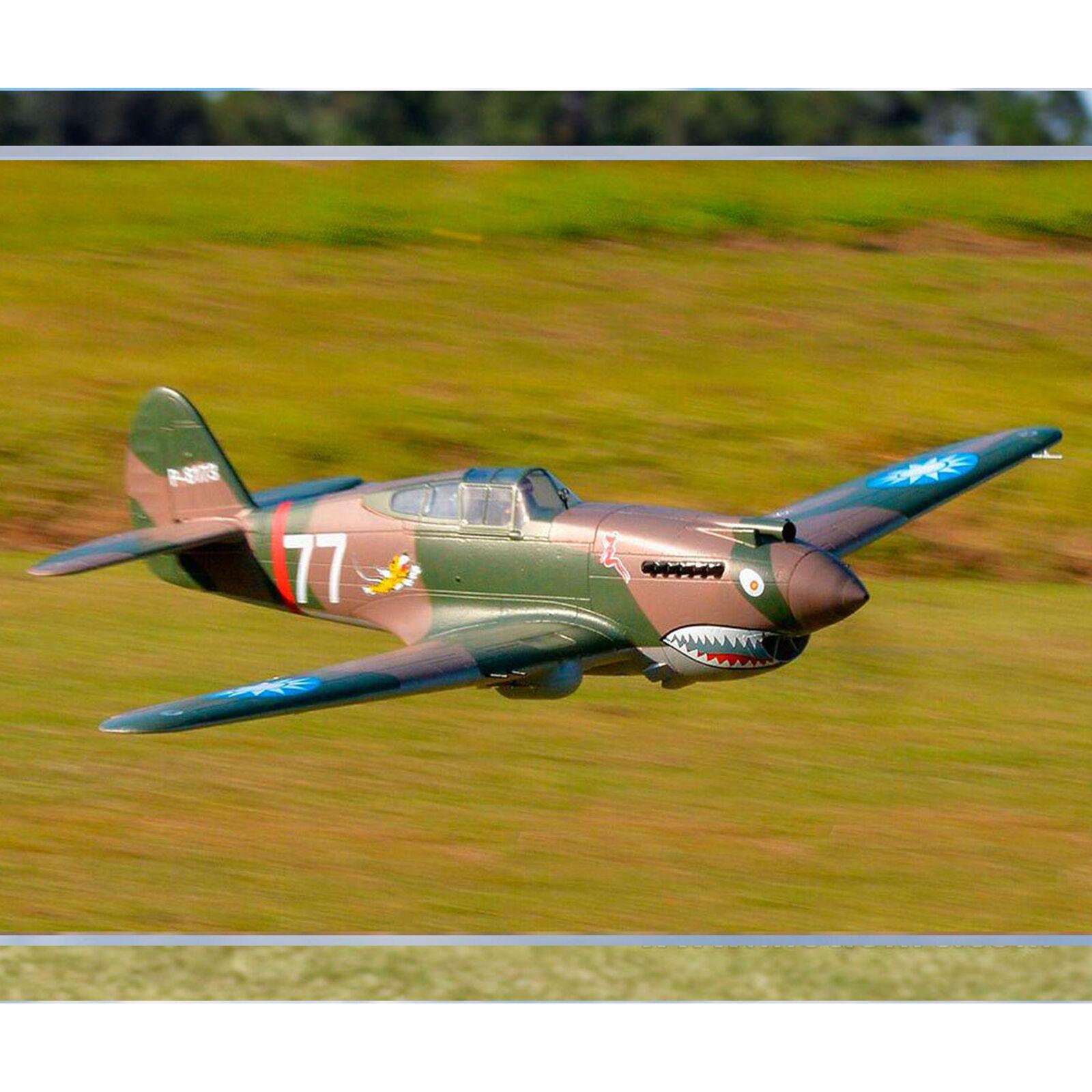 P-40B Tomahawk Flying Tigers PNP, 1400mm