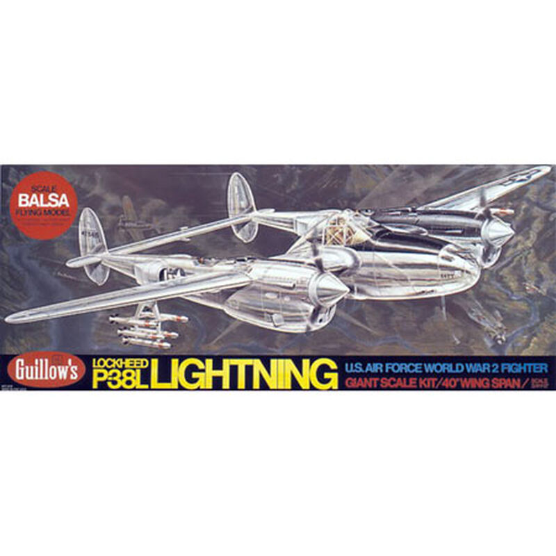 Lockheed P38 Lightning Kit, 40""
