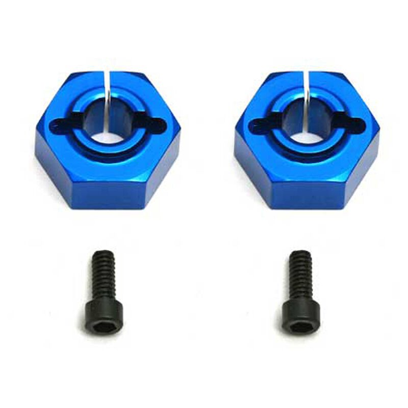 Factory Team 12mm Aluminum Clamping Wheel Hexes Buggy Rear