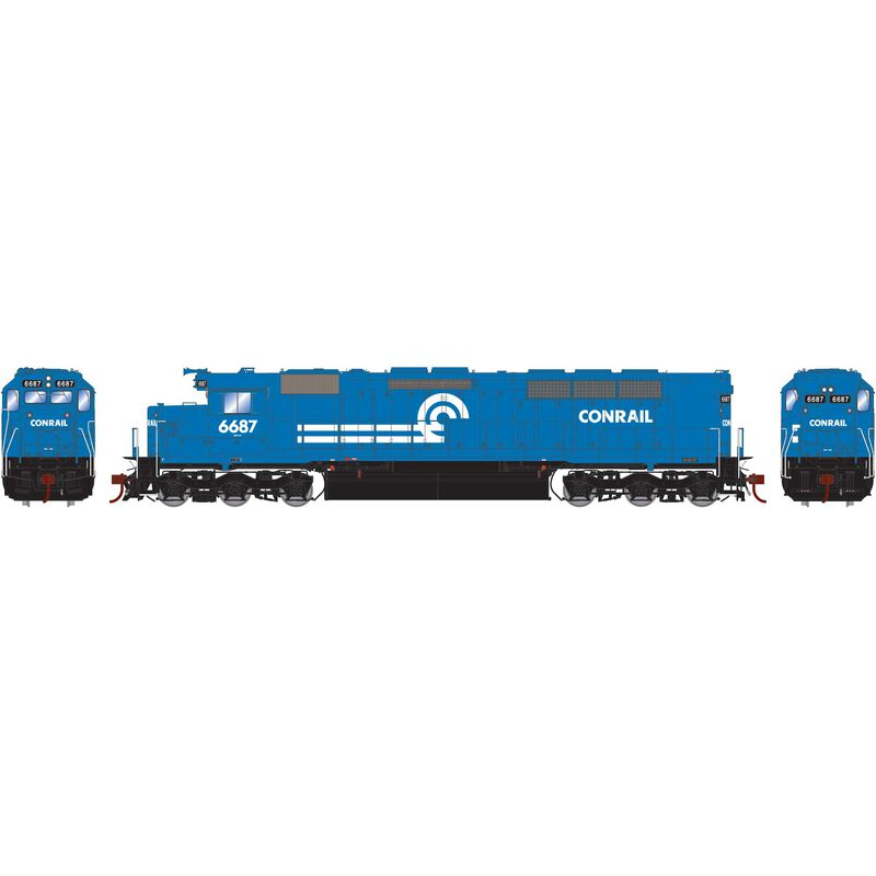 HO SDP45 with DCC & Sound CR #6687