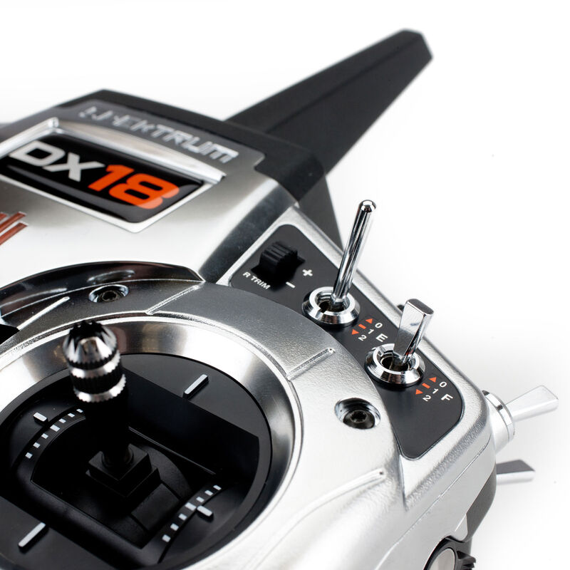 DX18 18-Channel DSMX® transmitter with AR9020 Receiver, Mode 1