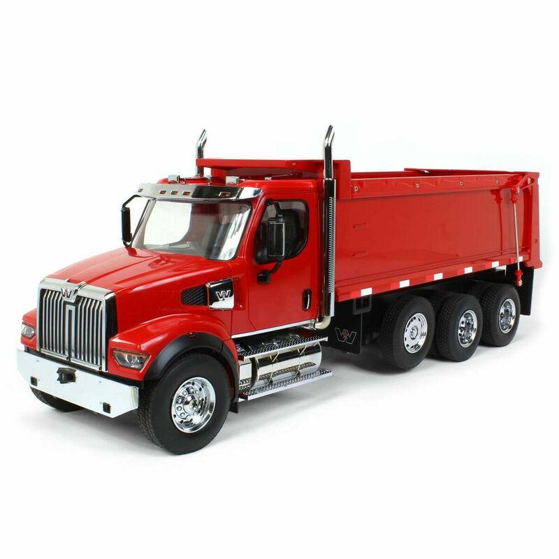 1/16 RC Caterpillar Western Star 49X SFFA Dump Truck