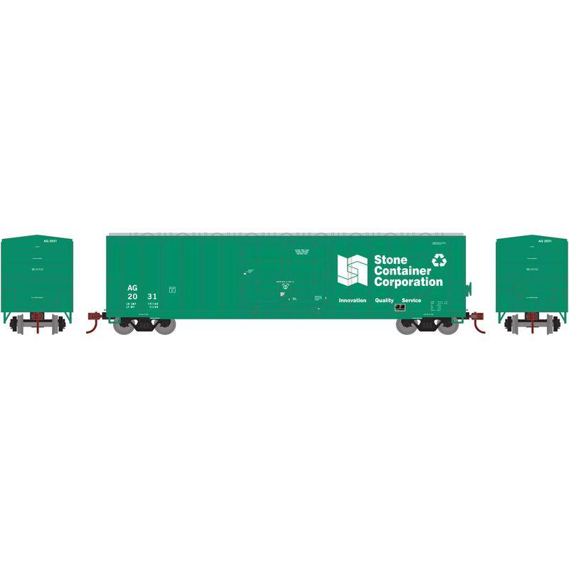 HO RTR 50' FMC Superior Plug Door Box AG #2031