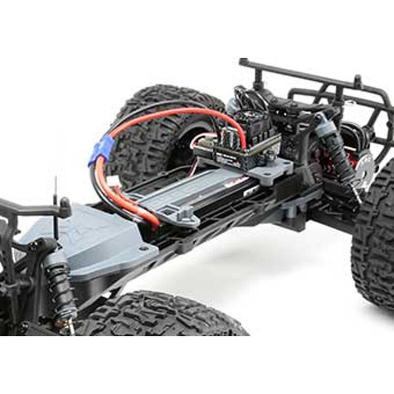 1/10 Ruckus 2WD Monster Truck Brushless with LiPo RTR, Silver