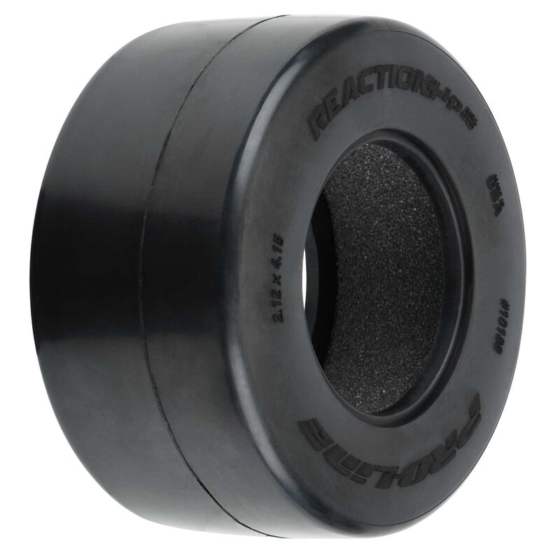 """1/10 Reaction+ HP Wide BELTED S3 Rear 2.2""""/3.0"""" Drag Tire (2)"""