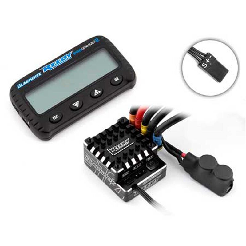 Reedy  Blackbox 510R Competition ESC with PROgrammer 2