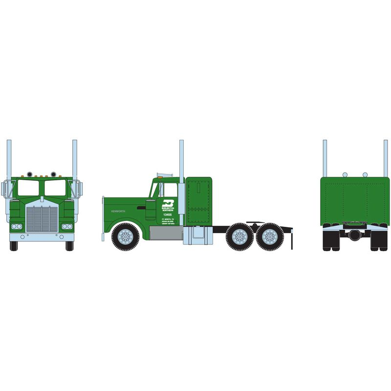 HO RTR KW Tractor BN