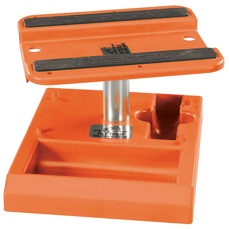 Pit Tech Deluxe Car Stand, Orange