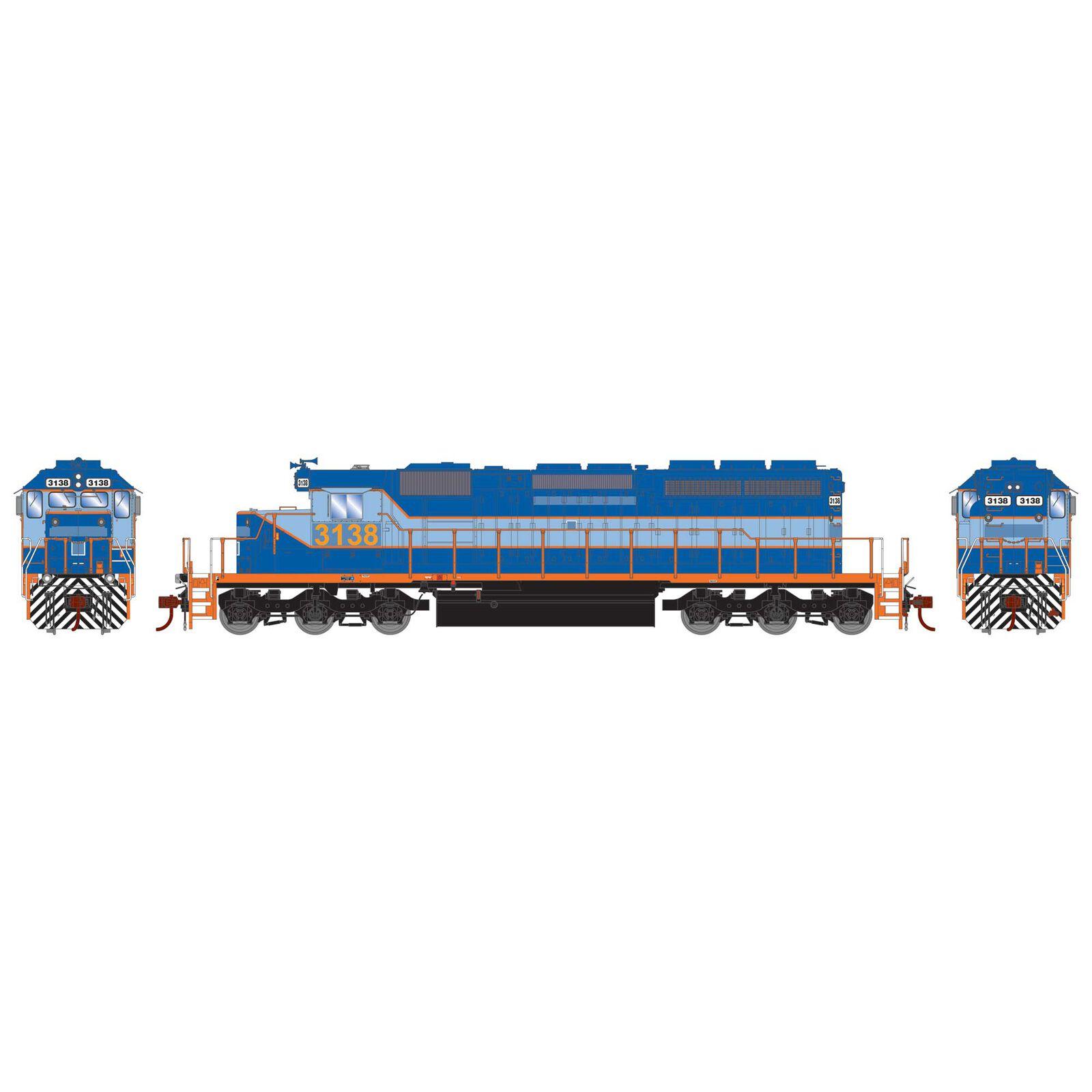 HO RTR SD40-2 Ferromex Ex-NDM #3138