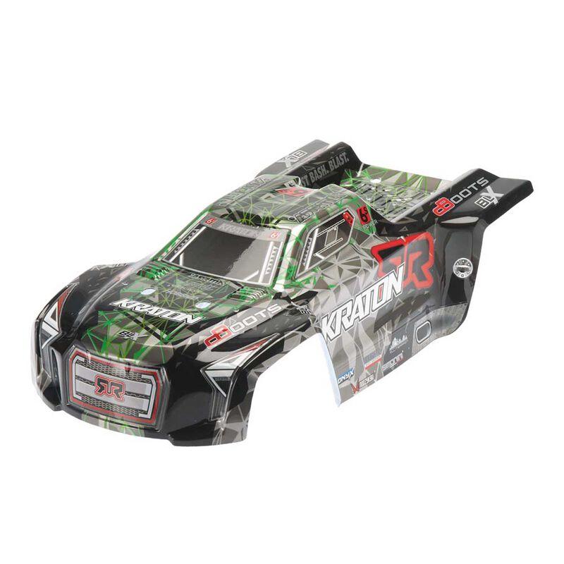 1/8 Painted Body, Green/Black: Kraton 6S II