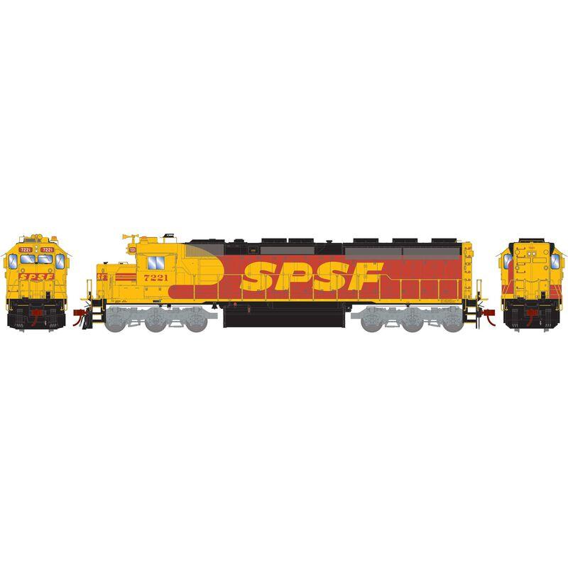 HO SD45-2 SPSF #7221
