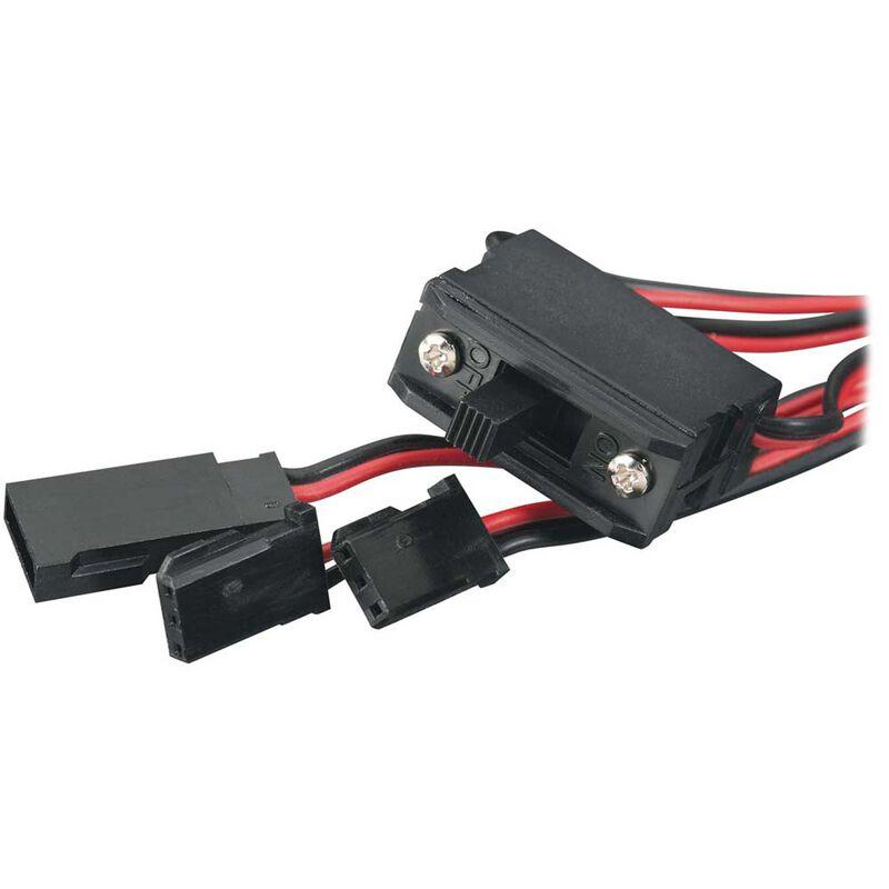 Switch Harness with Charge Plug: Futaba J