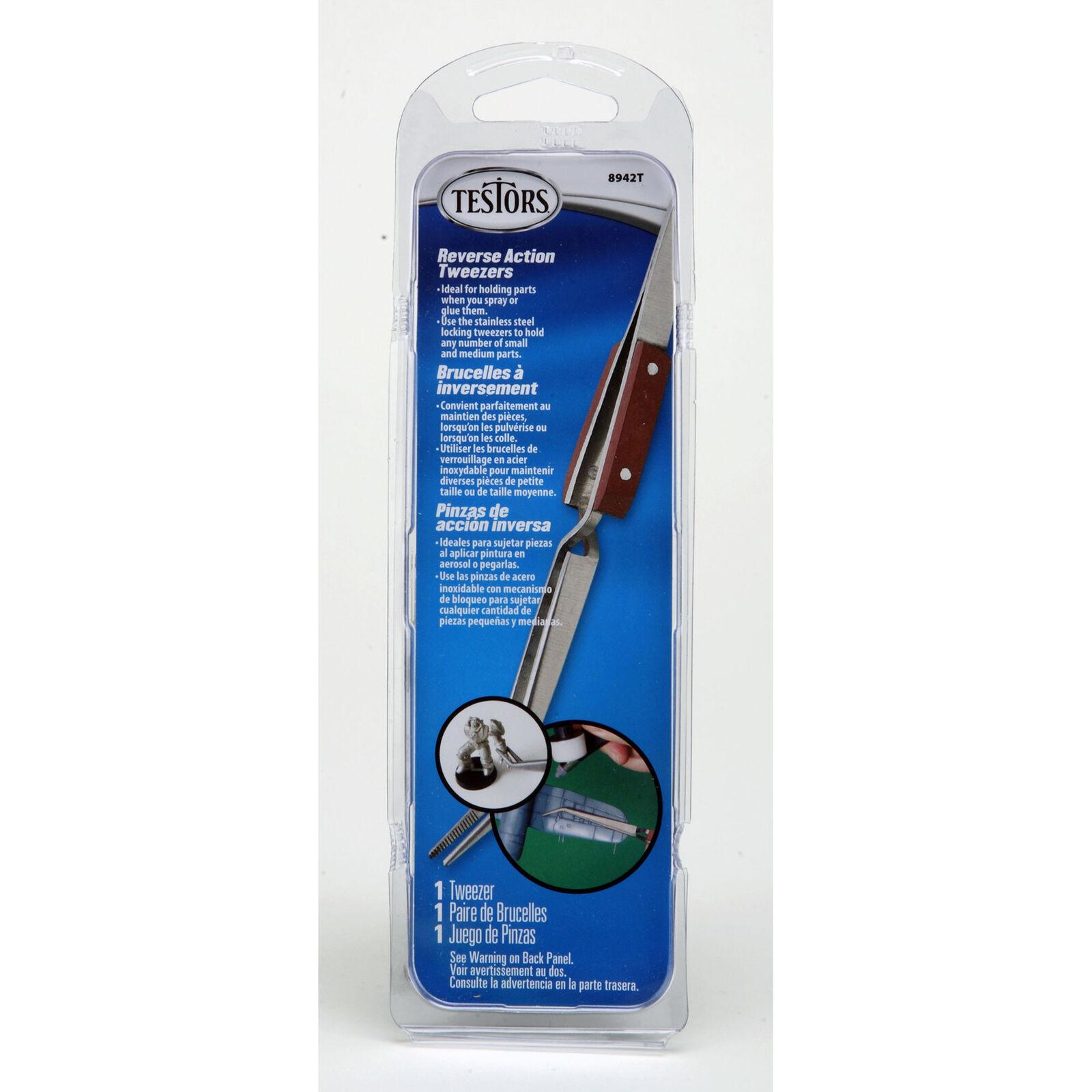 Reverse Action Tweezers Tool