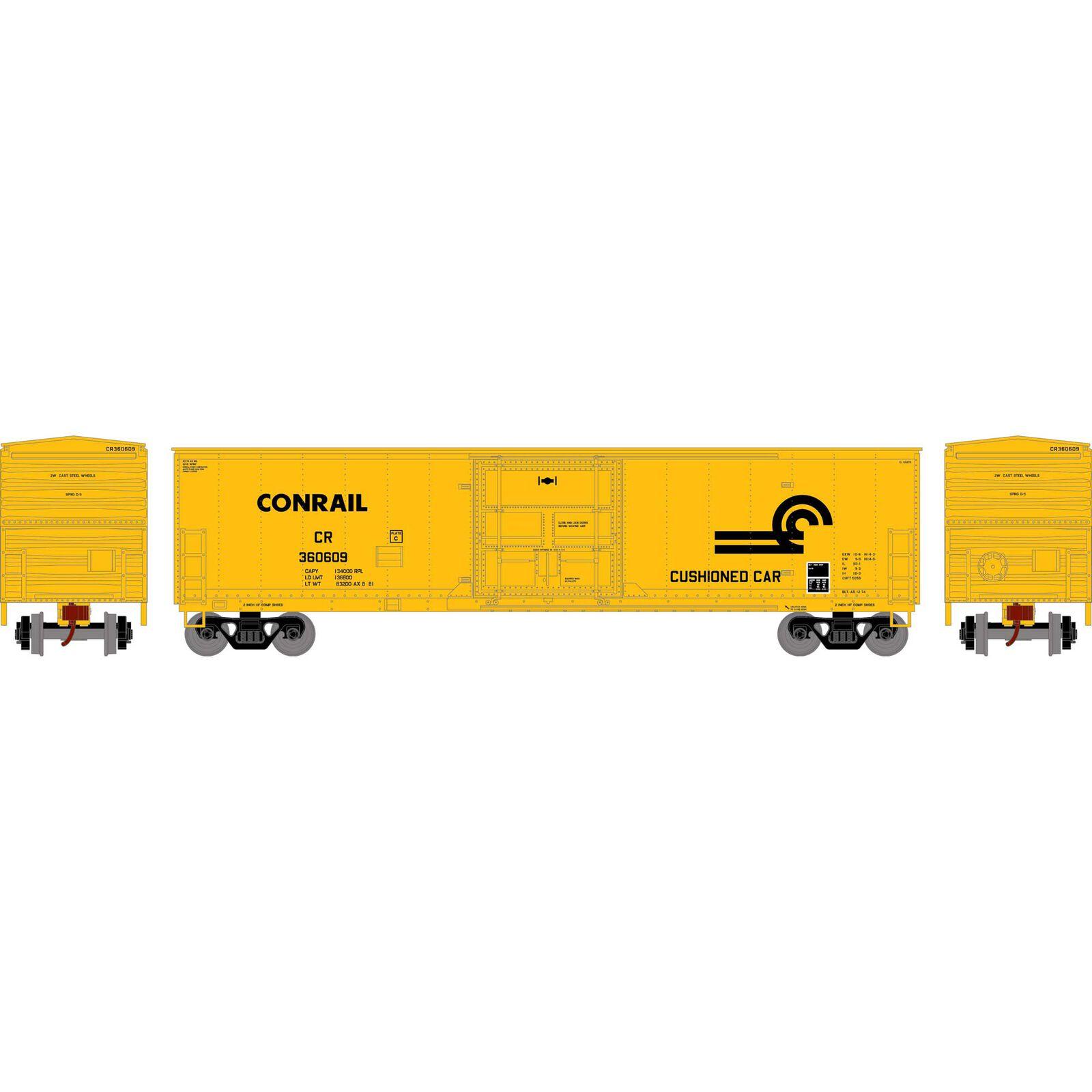 HO RTR 50' Superior Plug Door Box, CR #360609