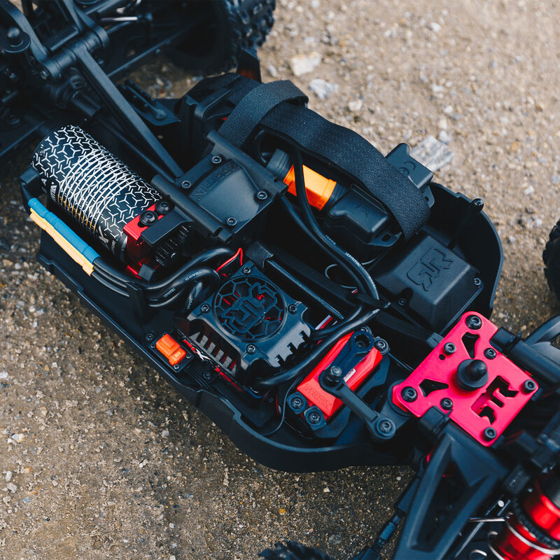 1/8 TYPHON 6S BLX 4WD Brushless Buggy with Spektrum RTR, Red/Grey
