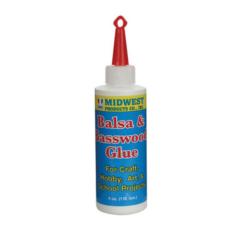 Balsa & Basswood Glue 4 oz