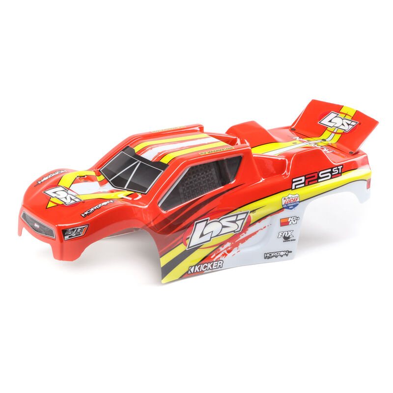 1/10 Painted Body Set, Red/Yellow: 22S ST