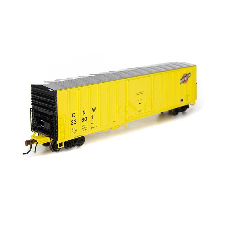 HO RTR 50' NACC Box C&NW #33801