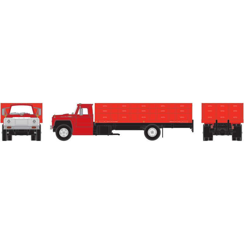 HO RTR Ford F-850 Grain Truck, Red