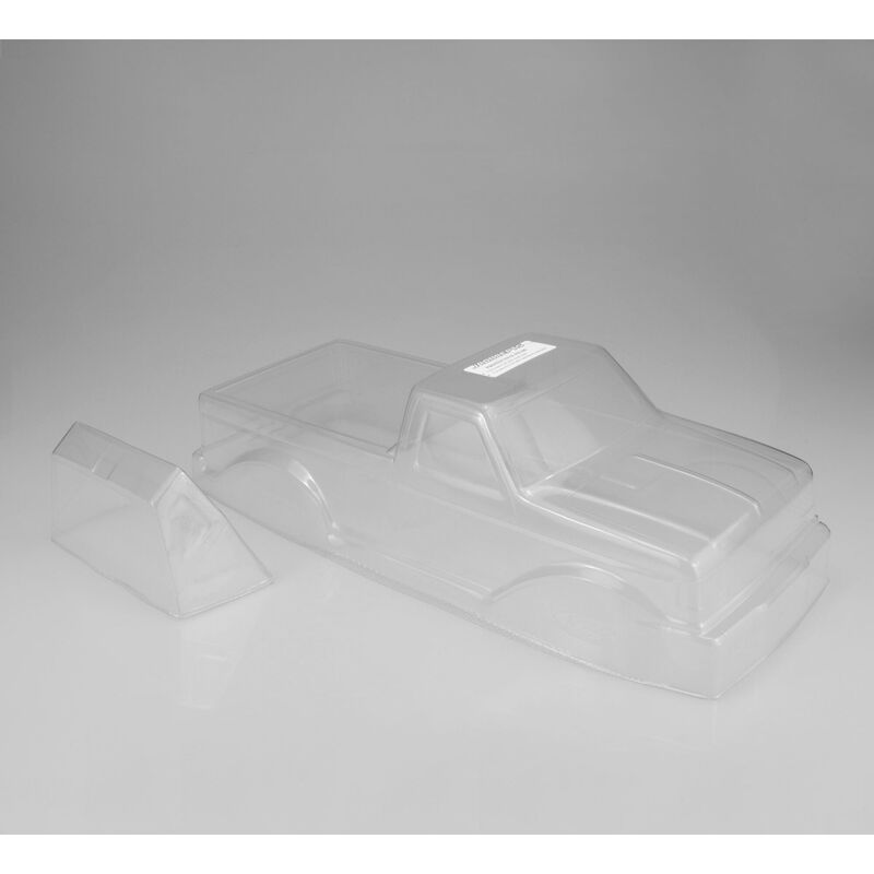 1/10 1989 Ford F-250 Monster Truck Clear Body with Racerback