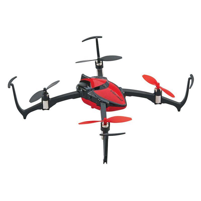 Verso Inversion QuadCopter UAV RTF, Red