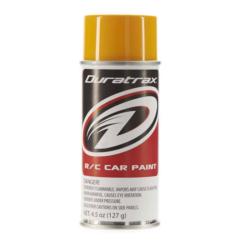 Polycarb Spray, Bright Yellow, 4.5 oz