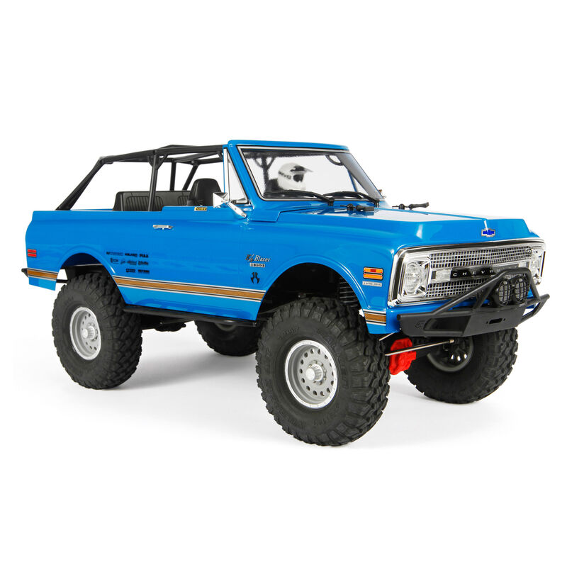 1/10 SCX10 II '69 Chevrolet Blazer 4WD Rock Crawler Brushed RTR