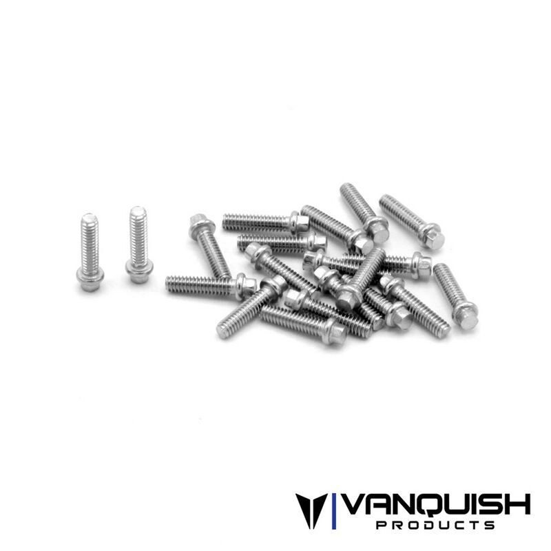 Scale M2X8 Stainless Hardware