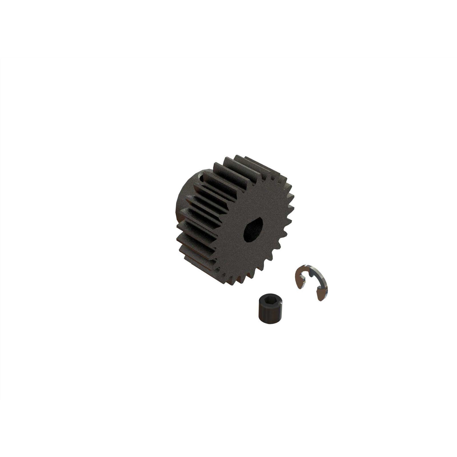 25T 0.8Mod Safe-D5 Pinion Gear