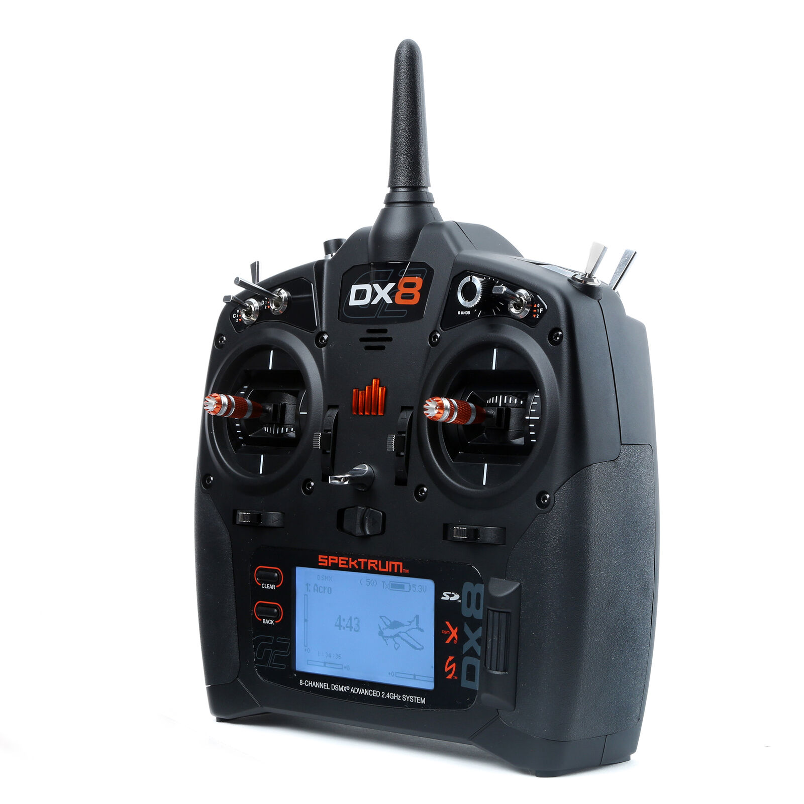 DX8 8-Channel DSMX Transmitter Only Gen 2