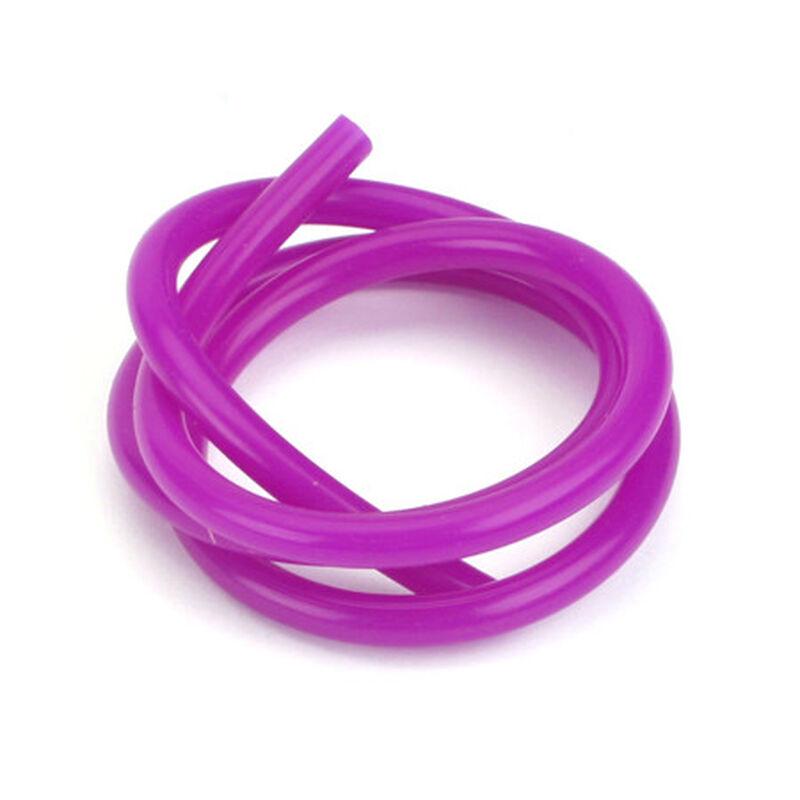 Silicone 2' Fuel Tubing, Purple