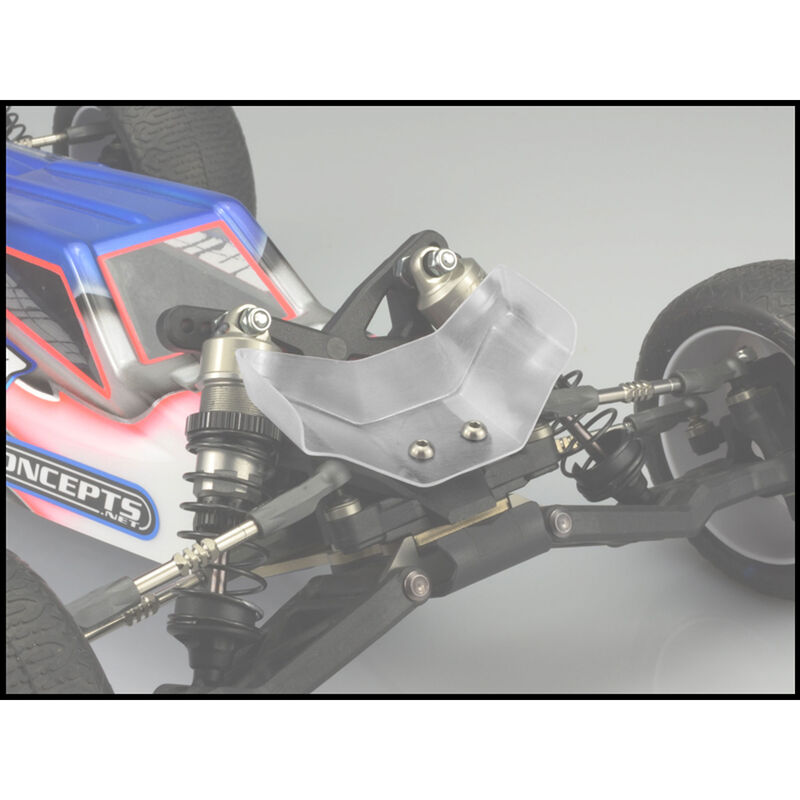 1/10 Aero Lower Front Clear Wing (2)
