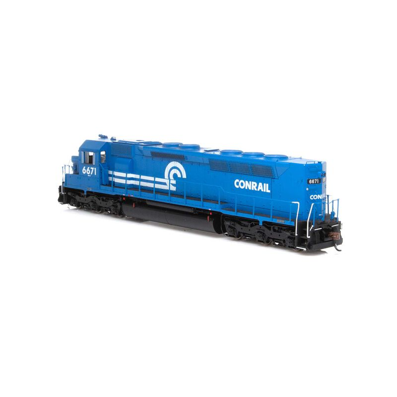 HO SDP45 with DCC & Sound CR #6671
