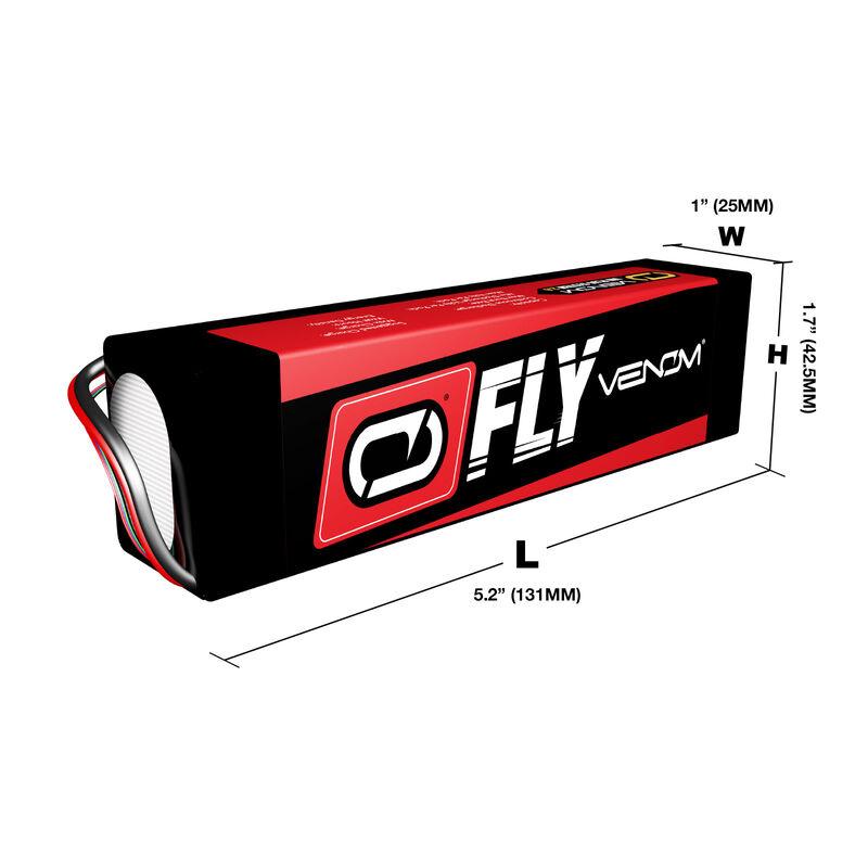 14.8V 3600mAh 4S 30C FLY LiPo Battery: UNI 2.0 Plug