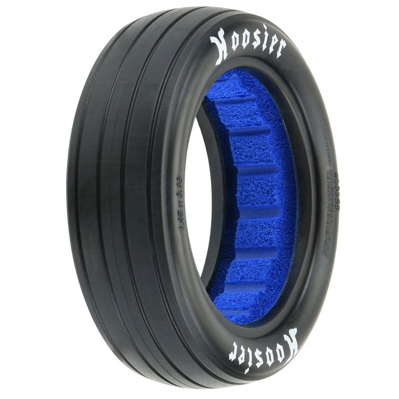 """1/10 Hoosier Drag S3 2WD Front 2.2"""" Drag Racing Tire (2)"""