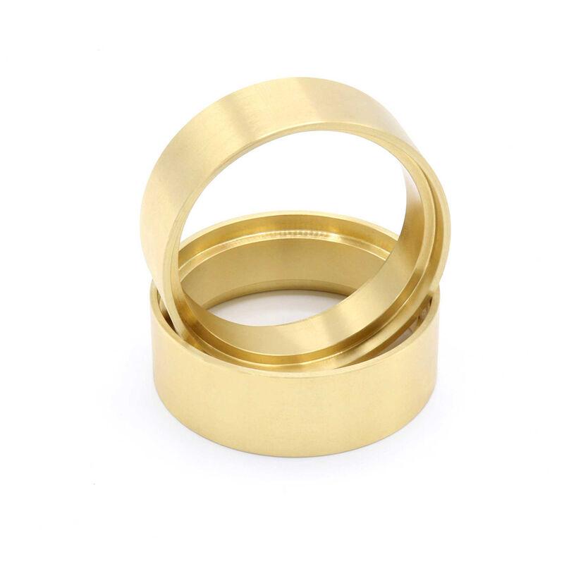 "1.9 Brass 1.0"" Wheel Clamp Rings (Pair)"