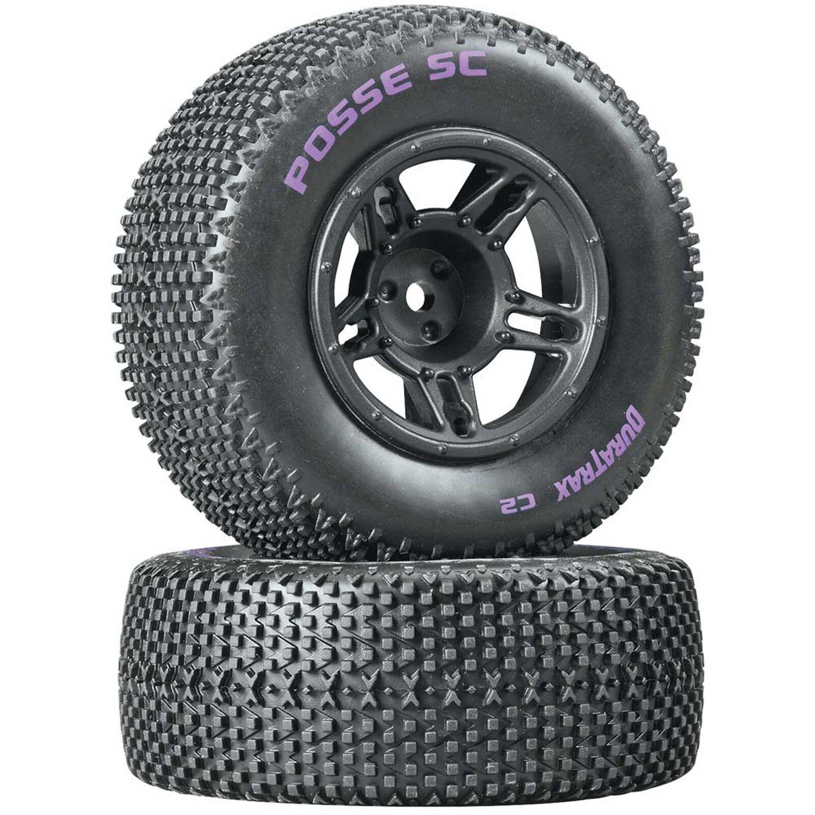 Posse SC C2 Mounted Tires, Front: Slash (2)