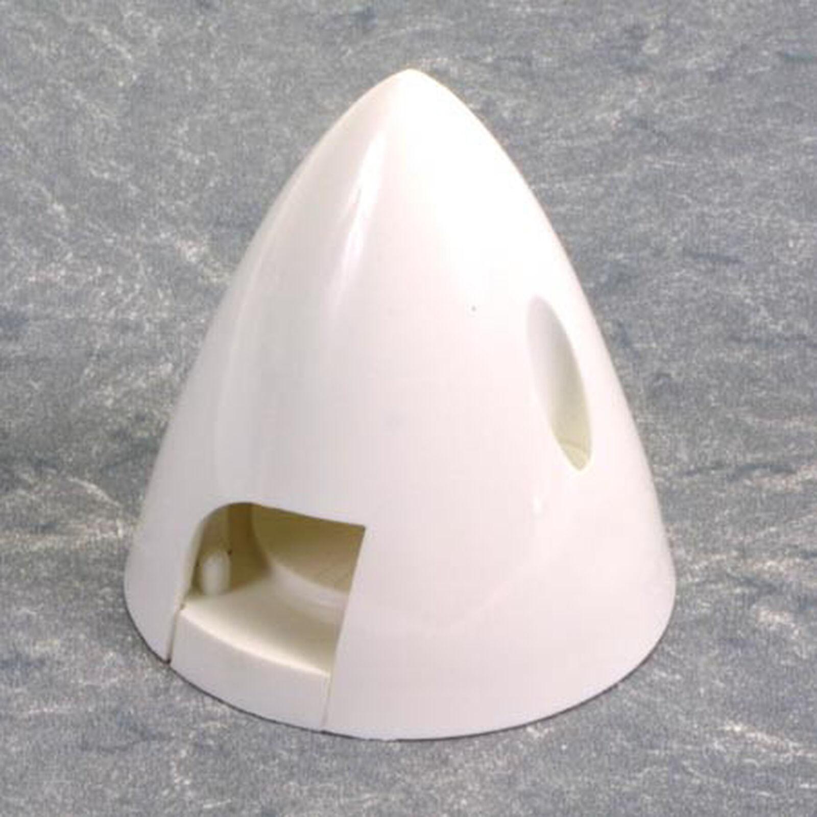 """4 Pin Spinner,2-1/4"""" White"""
