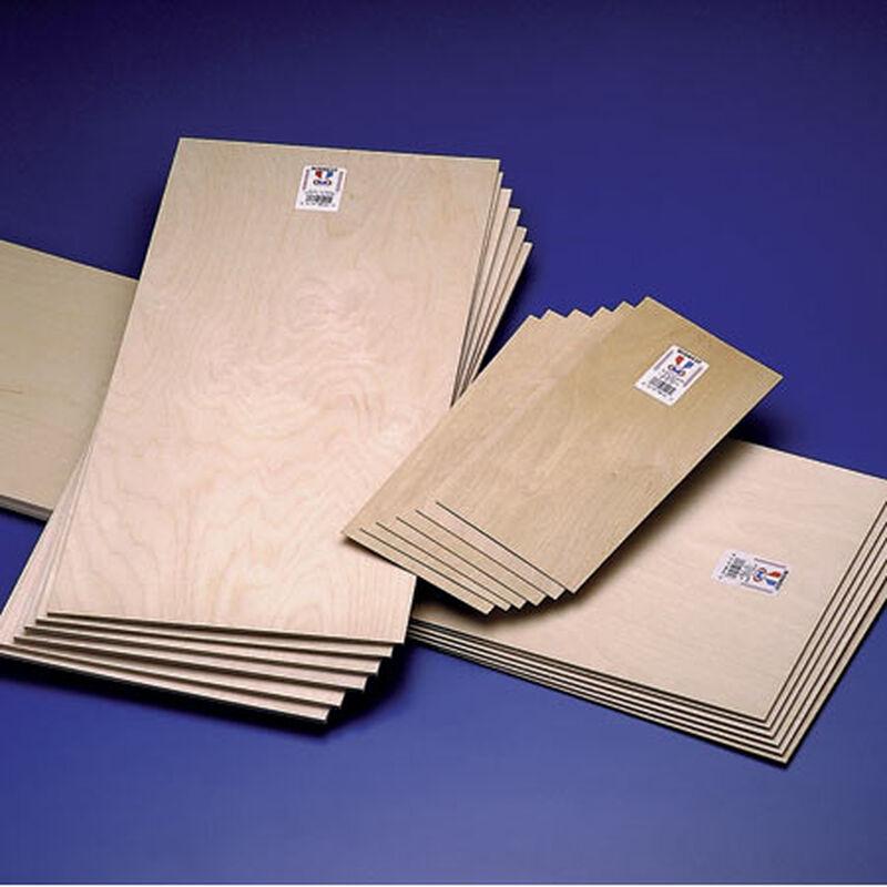 Plywood 1/32 x 6 x 12 (6)