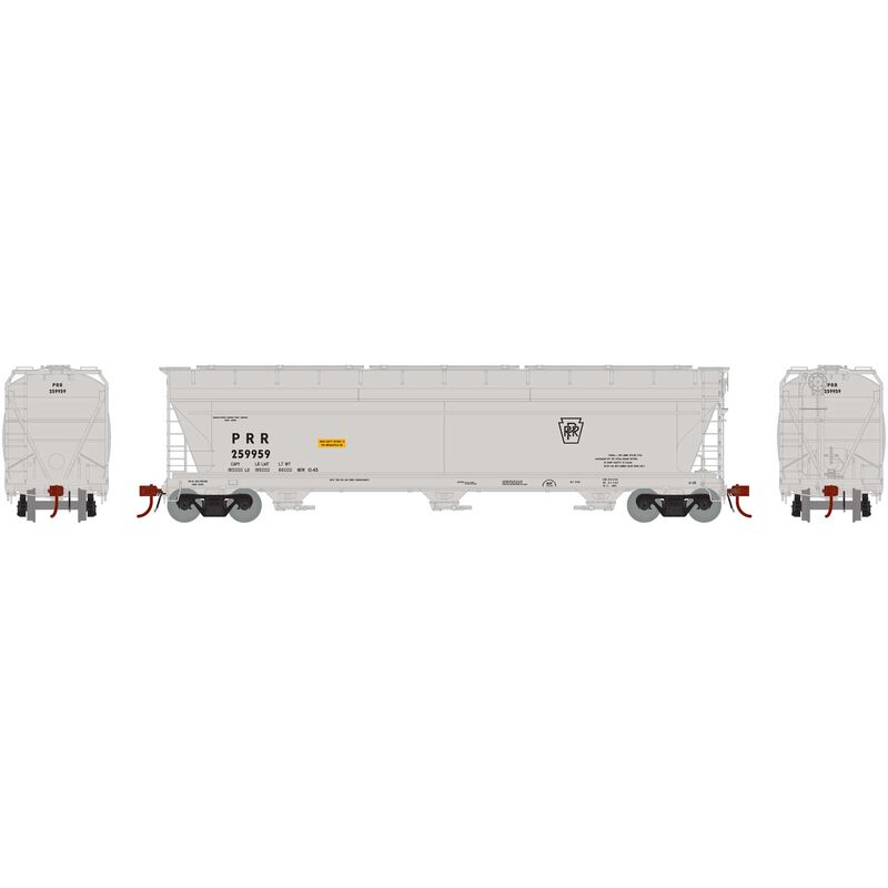 N ACF 4600 3-Bay Centerflow Hopper PRR #259959
