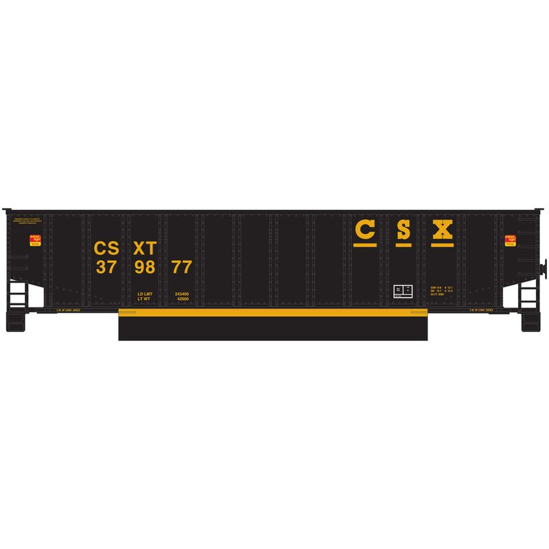 N Bethgon Coalporter with Load CSX Black #4 (5)