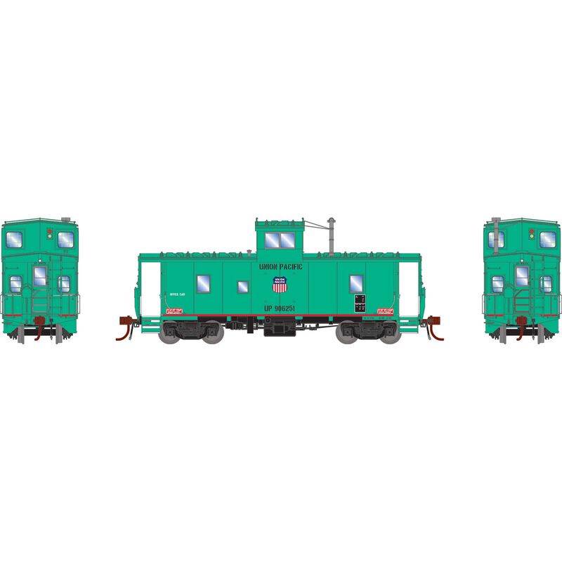 HO CA-9 ICC Caboose with Lights UP MOW Office #906251