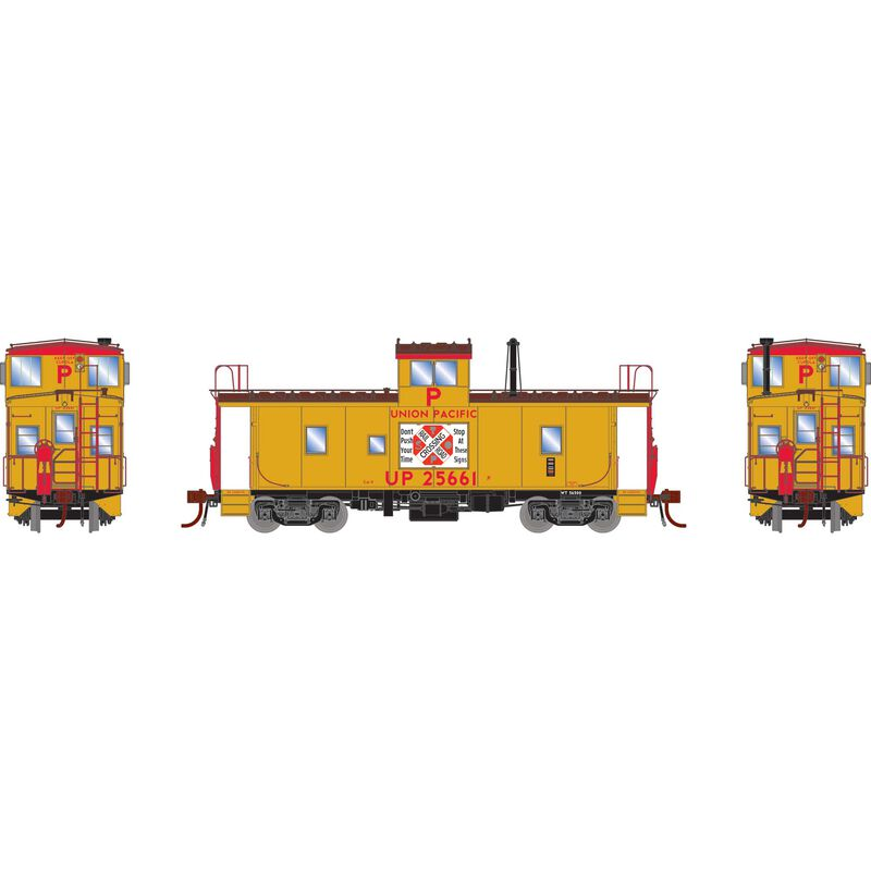 HO CA-9 ICC Caboose with Lights UP #25661