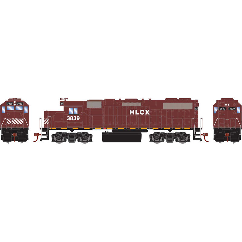 HO GP38-2 with DCC Decoder HLCX #3839