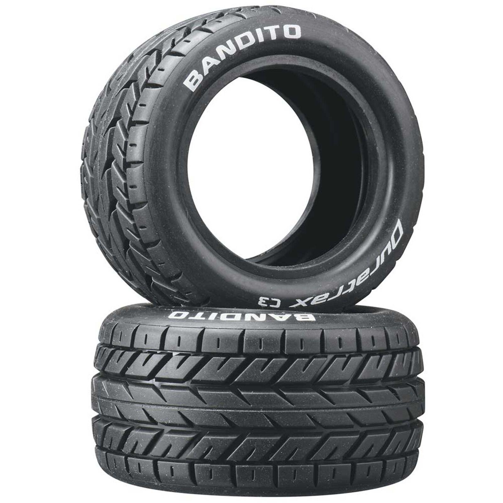 Bandito 1/10 Buggy Tires Rear 4WD C3 (2)