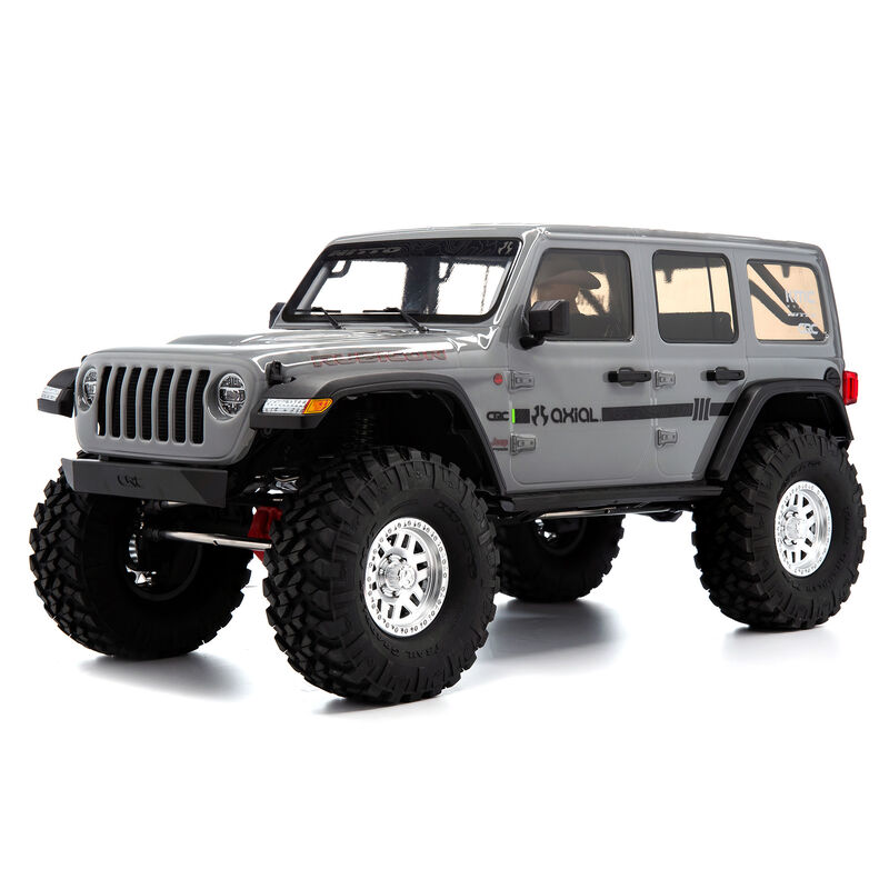 1/10 SCX10 III Jeep JLU Wrangler with Portals RTR, Gray
