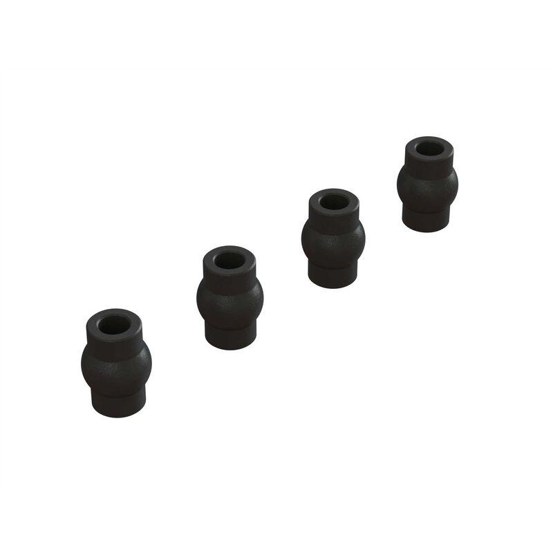 Ball End, 4x9x12.5mm (4)